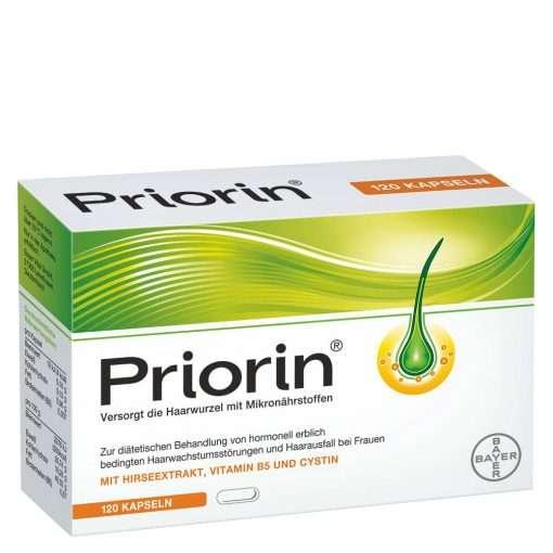 Bayer Priorin 120 Capsules