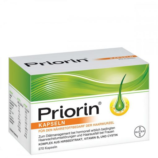 Bayer Priorin 270 Capsules
