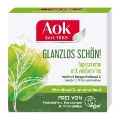 AoK Matting Day Cream with White Tea