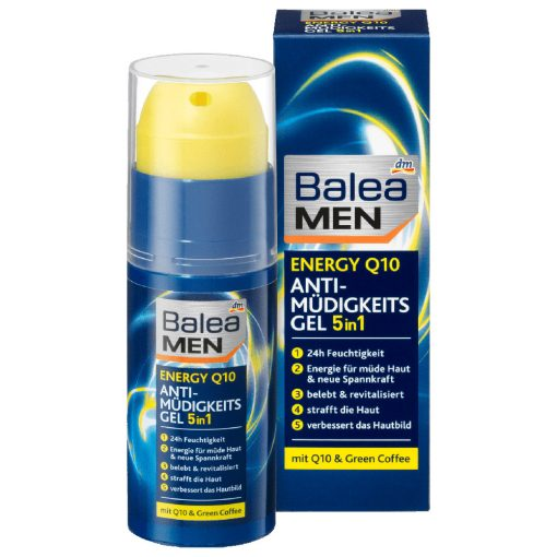 Balea Men Energy Q10 Anti-Fatigue Eye Gel, 50ml