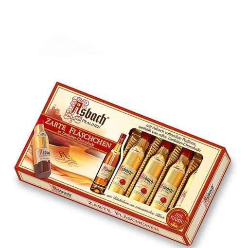 Asbach Uralt Pralines Tender bottles, 8 pieces
