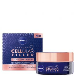 Nivea Cellular Hyaluron Filler + Elasticity Night Cream, 50ml