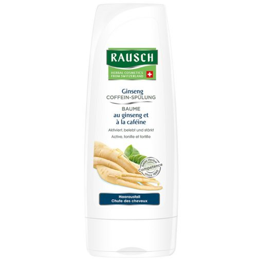 Rausch Ginseng Caffeine Rinse Conditioner, 200ml