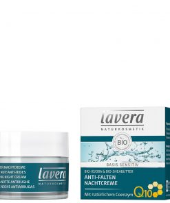 Lavera Basis Sensitiv Anti-Ageing Night Cream Q10, 50ml