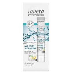 Lavera Basis Sensitiv Anti-Wrinkle Eye Cream, 15ml