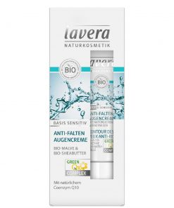 Lavera Basis Sensitiv Anti-Wrinkle Eye Cream, 15ml