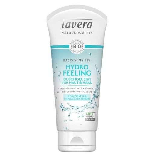 Lavera Basis Sensitiv Body Wash 2in1 Hydro Feeling, 200ml