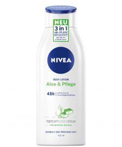 Nivea Aloe & Care 48h Body Lotion, 400ml