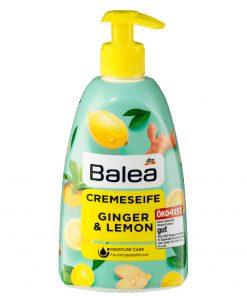 Balea Cream Soap Ginger & Lemon, 500ml