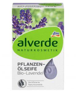 Alverde Vegetable Oil Lavender Soap, 100g