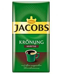 Jacobs Kronung Strong Ground Coffee, 500 Gr / 17.6 Oz