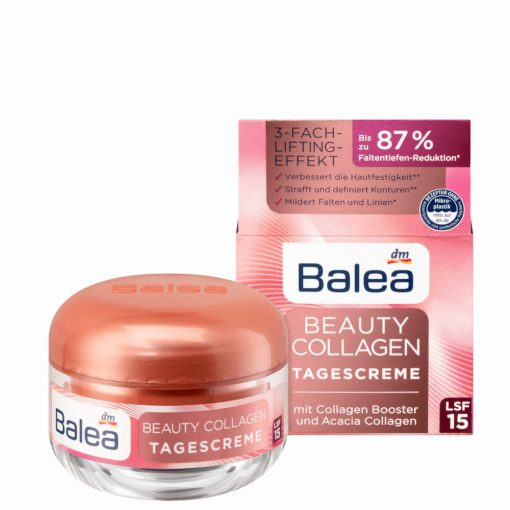 Balea Beauty Collagen Day Cream SPF 15, 50ml