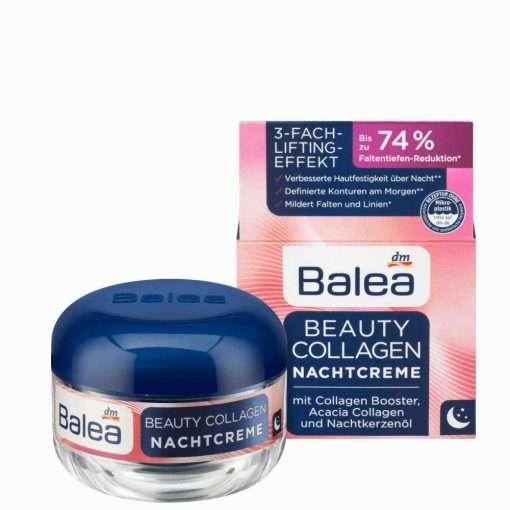 Balea Beauty Collagen Night Cream, 50ml