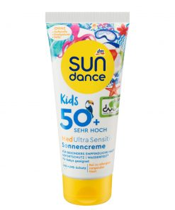 Sundance MED ultra sensitiv Sun Cream Kids, LSF 50+, 100 ml