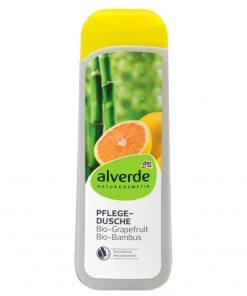 Alverde Shower Gel Grapefruit Bamboo, 250ml