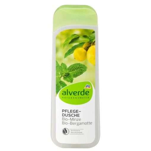Alverde Shower Gel Mint Bergamot, 250ml
