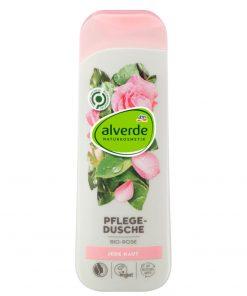 Alverde Shower Gel Organic Rose, 250ml