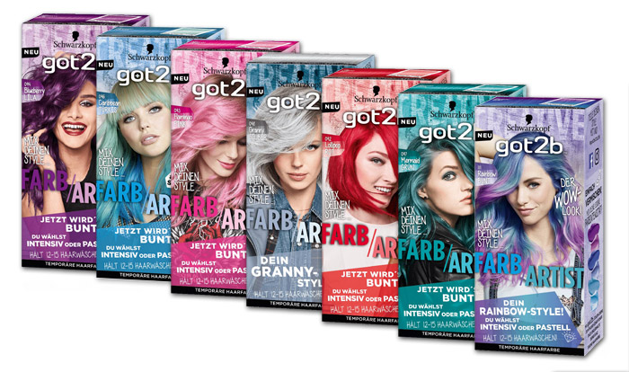 Schwarzkopf Got2b Launched New Ligtheners And Colorations