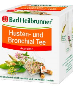 Bad Heilbrunner Organic Cough Bronchial Tea