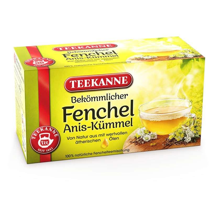Teekanne Fennel Caraway Tea, 20 bags