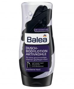 Balea Activated Charcoal Shower Lotion