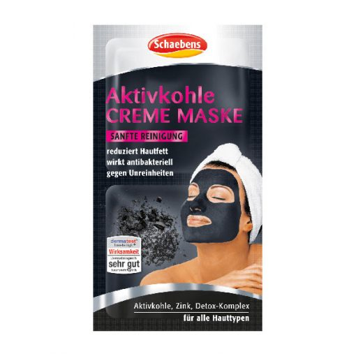 Schaebens Activated Charcoal Cream Mask