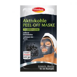 Schaebens Activated Charcoal Peel Off Mask