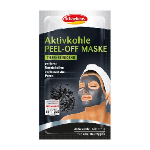 Schaebens Activated Charcoal Peel Off Mask