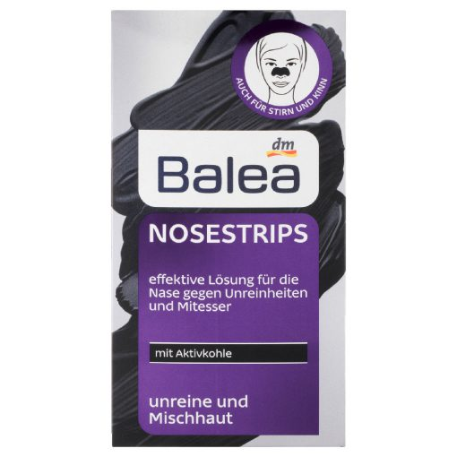 Balea Activated Charcoal Nose Strips