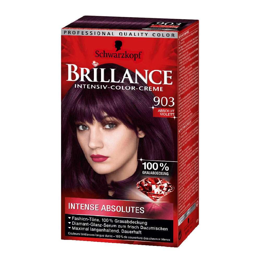 Schwarzkopf brillance 903 absolutely violet german drugstore for Salon schwarzkopf