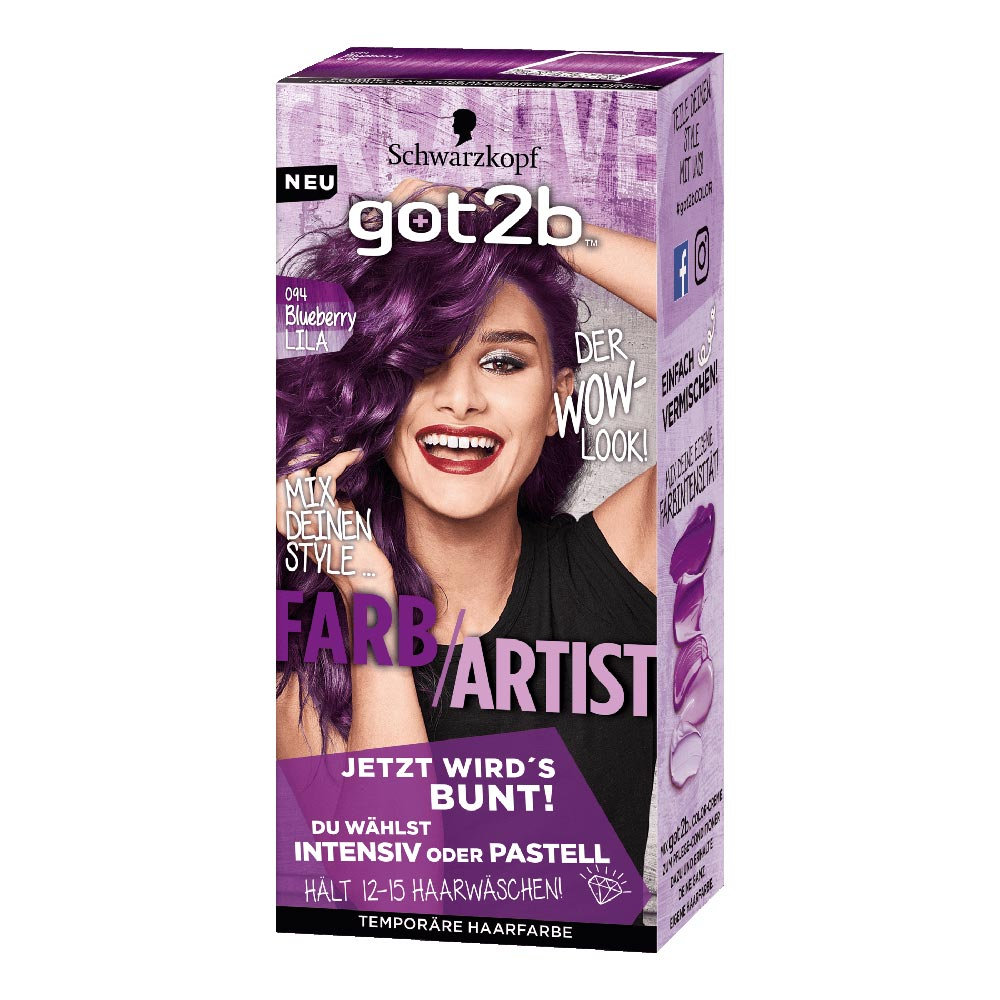 Got2b Color Bright Pastel Purple Punk German Drugstore