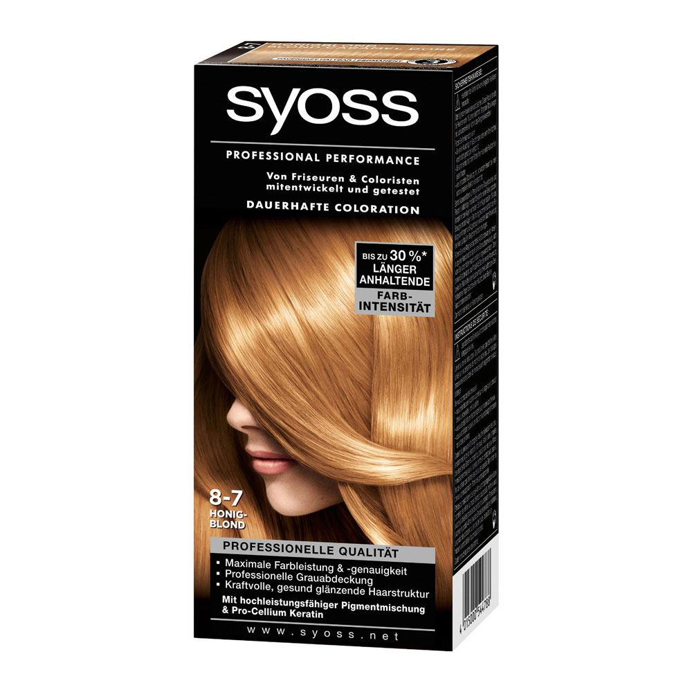 Syoss Color Classic 8 7 Golden Caramel Blond German Drugstore