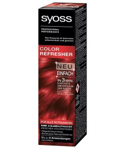 Syoss Color Refresher Red