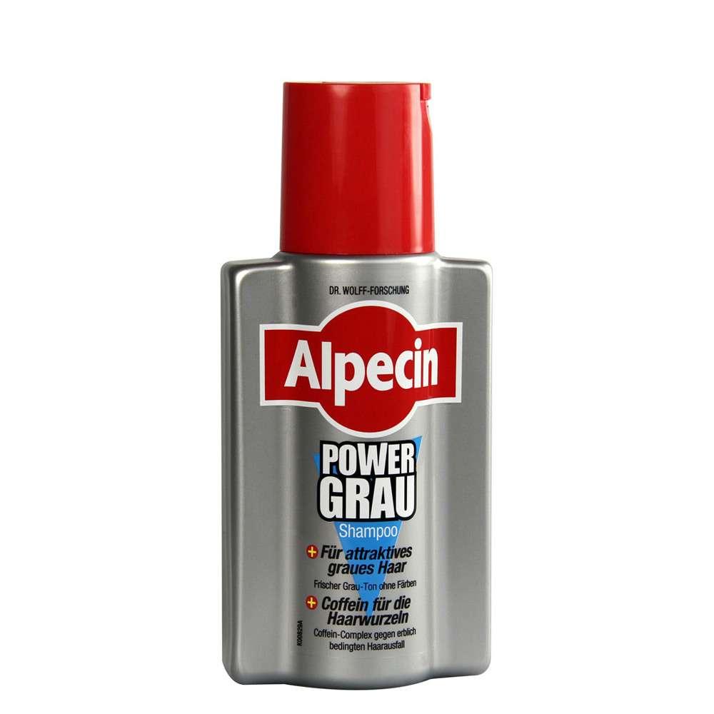 Alpecin Power Grey Shampoo 200ml German Drugstore C1 Caffeine Hair Loss