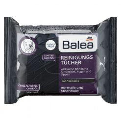 Balea Activated Charcoal Cleaning Wipes