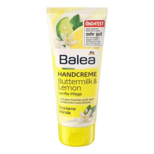 Balea Lemon Buttermilk Hand Cream