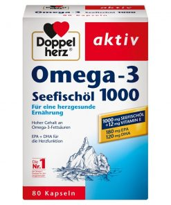 Doppelherz Omega-3 Sea Fish Oil