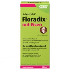 Floradix with iron gluconate