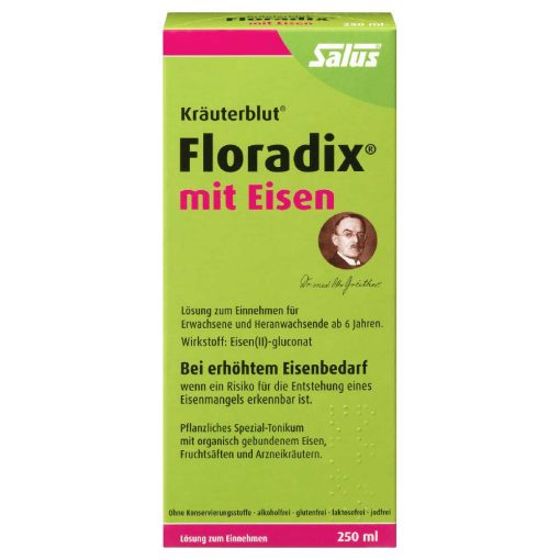 Floradix with iron gluconate