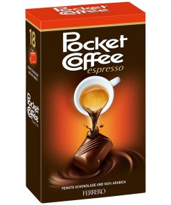 Pocket Coffee Espresso 18 Box