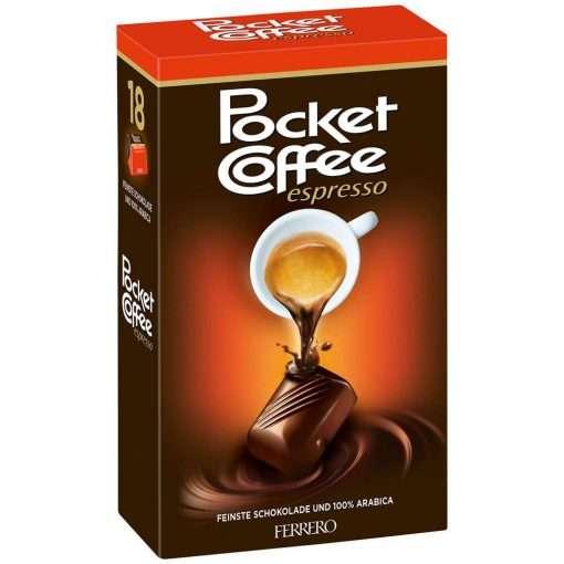 Pocket Coffee Espresso 18 Box